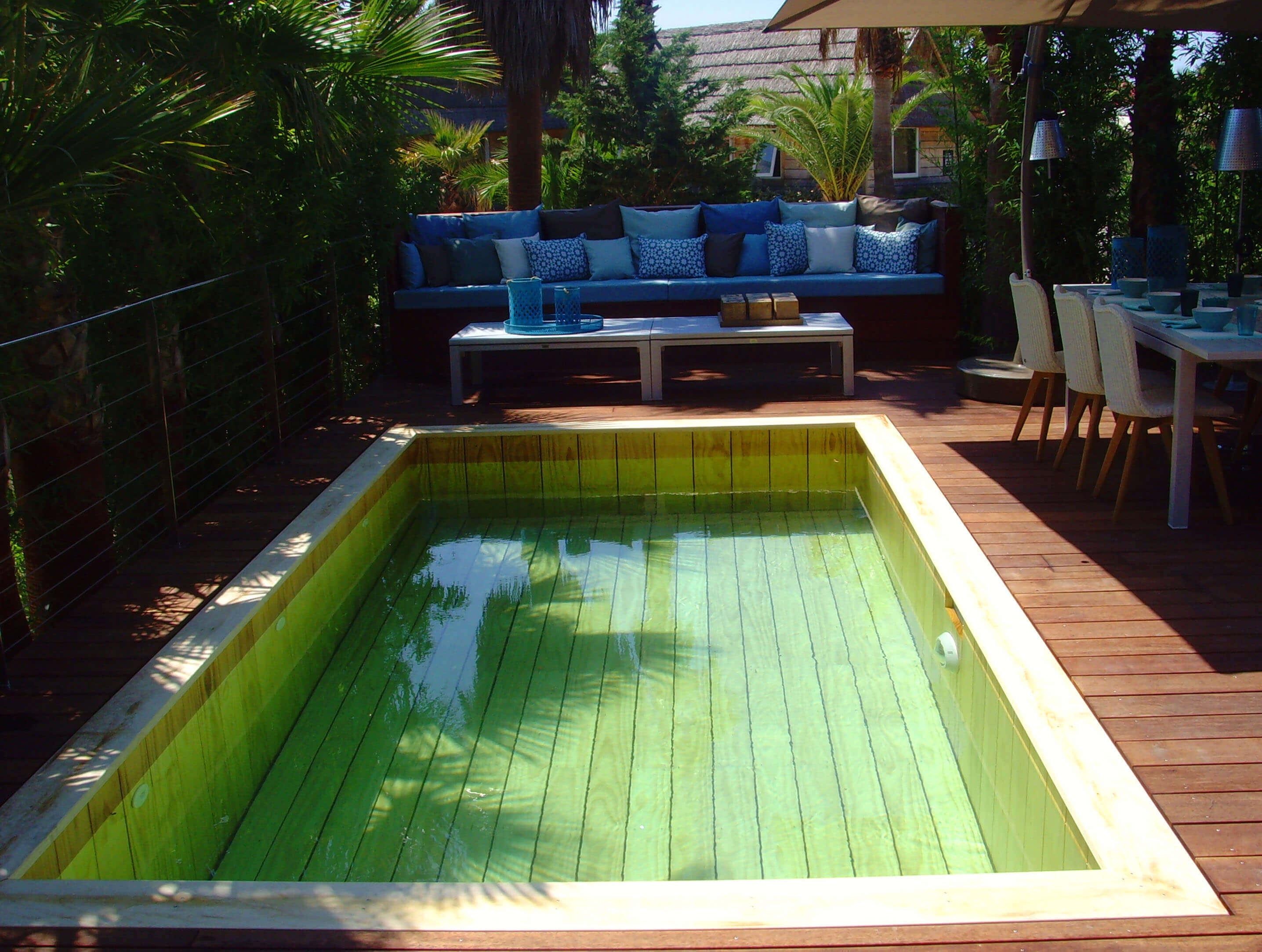 Le concept de la piscine tout bois par natura piscines for Piscine design concept