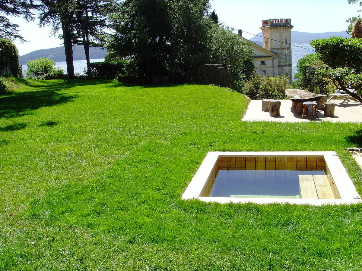 Natura piscines mini piscines bois et petite piscine spa for Rechauffeur petite piscine