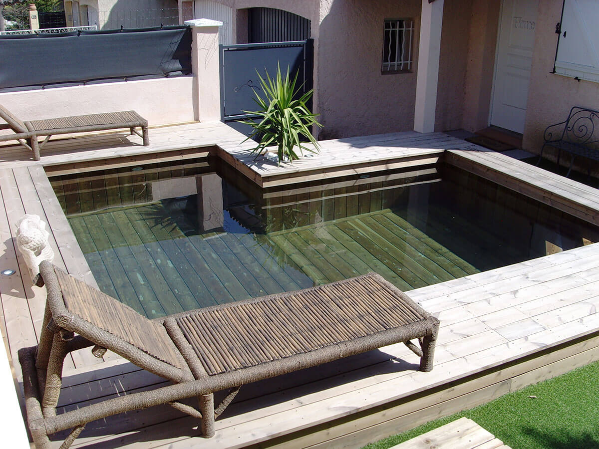 piscine hors sol en bois sur mesure haut de gamme natura piscines. Black Bedroom Furniture Sets. Home Design Ideas